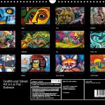 Kalender 2017: Graffiti und Street Art in La Paz