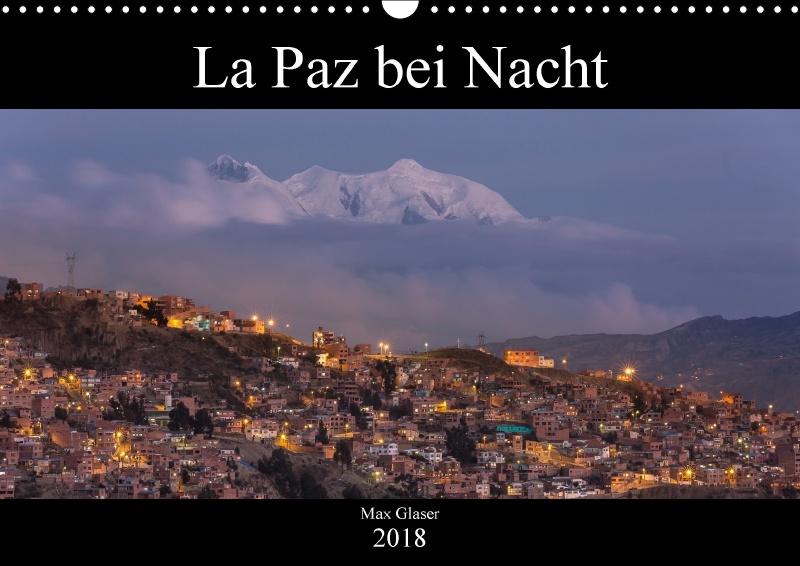 Kalender - La Paz bei Nacht